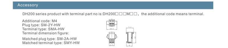 high voltage dc contactor dh200 for sale
