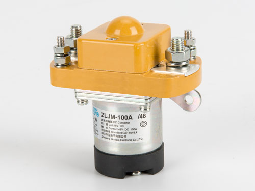 Normal Open 100A DC contactor ZLJM-100A MZJ-100A